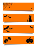 Halloween web banners. Vector eps-10. Stock Images