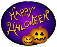 Halloween Web Page Logo Sign Royalty Free Stock Images