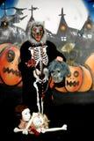 Halloween werewolf graffiti Royalty Free Stock Photos