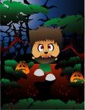 Halloween werewolf vector Royalty Free Stock Photos