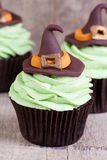 Halloween which cupcakes Royalty Free Stock Photos