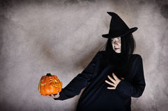 Halloween witch Stock Photos