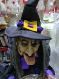 Halloween witch doll. Background Royalty Free Stock Image