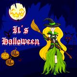 Halloween Witch Stock Images