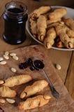 Halloween witch finger cookies Stock Photo
