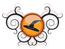 Halloween witch hat Royalty Free Stock Photo