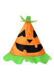 Halloween Witch Hat. On White Background stock images