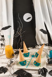 Halloween witch ice cream Royalty Free Stock Images