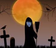 Halloween witch Stock Photo