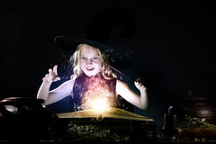 Halloween witch Royalty Free Stock Image