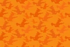 Halloween Witch Seamless Pattern Stock Photos