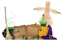 Halloween witchcraft Stock Photo