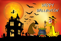 Halloween witches brew that potion Stock Photos