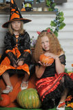 Halloween witches Royalty Free Stock Photos