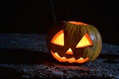 Halloween wkrótce klasyka kierowniczej dźwigarki straszna bania Zdjęcie Stock