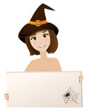 Halloween woman Royalty Free Stock Images