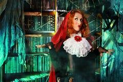 Halloween woman stock photo