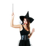 Halloween woman Stock Photography