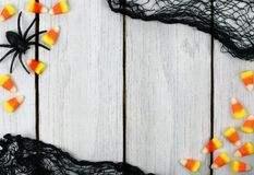 Halloween wooden background Royalty Free Stock Photography