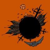 Halloween World. Illustration of Halloween World, format eps8 Stock Images