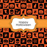 Halloween wrapping Stock Image
