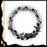 Halloween Wreath Royalty Free Stock Image