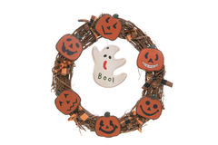 Halloween Wreath Royalty Free Stock Images