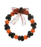 Halloween Wreath Royalty Free Stock Photography