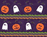 Halloween wzór Fotografia Stock