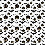 Halloween wzór Zdjęcie Stock