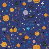Halloween wzór Obraz Stock