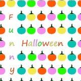 Halloween wzór Obraz Royalty Free