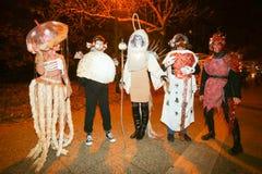 Halloween, Zagreb, Croacia Fotografía de archivo libre de regalías