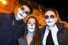 Halloween, Zagreb, Croatia. Royalty Free Stock Photo