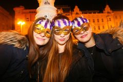 Halloween, Zagreb, Croatia. Royalty Free Stock Images
