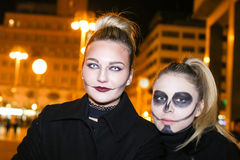 Halloween, Zagreb, Croatia. Royalty Free Stock Photography