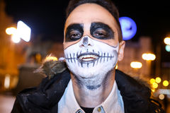 Halloween, Zagreb, Croatia. Stock Images