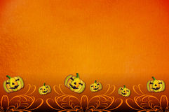 halloween zaproszenia przyjęcia szablon Fotografia Stock