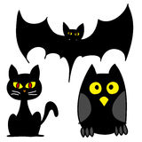 Halloween-Zeichenkarikatur. Stockfotografie