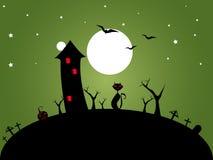 Halloween zieleń Zdjęcia Royalty Free