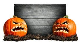 Halloween znak Zdjęcie Royalty Free