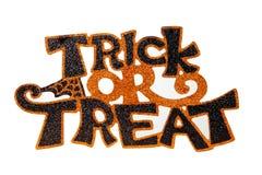 Halloween znak Fotografia Stock