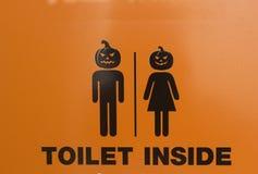 Halloween znak Obrazy Royalty Free