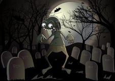 halloween zombie Arkivfoton