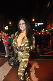 Halloween zombie crawl and parade Royalty Free Stock Image