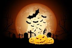 Halloween Zombie Party Poster Stock Photo