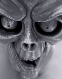 Halloween3. Ghoulish gargoyle face perfect for Halloween Royalty Free Stock Photos