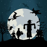 Halloween6 Royalty-vrije Stock Afbeelding