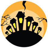 HalloweenBackground Royalty Free Stock Images