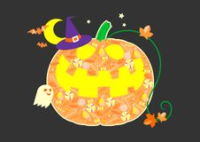 HalloweenElements stock de ilustración